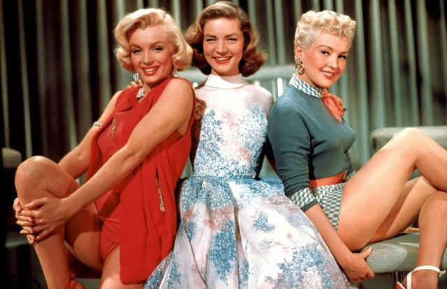 Marilyn-Monroe-Lauren-Bacall-Betty-Grable-in-How-To-Marry-A-Millionaire-1953