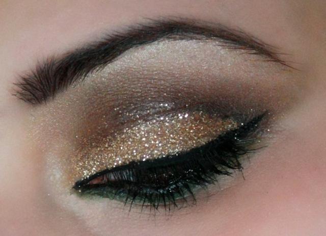 Gold Glitter BVC